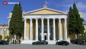 Video «Kann Griechenland wieder auf eigenen Beinen stehen? » abspielen