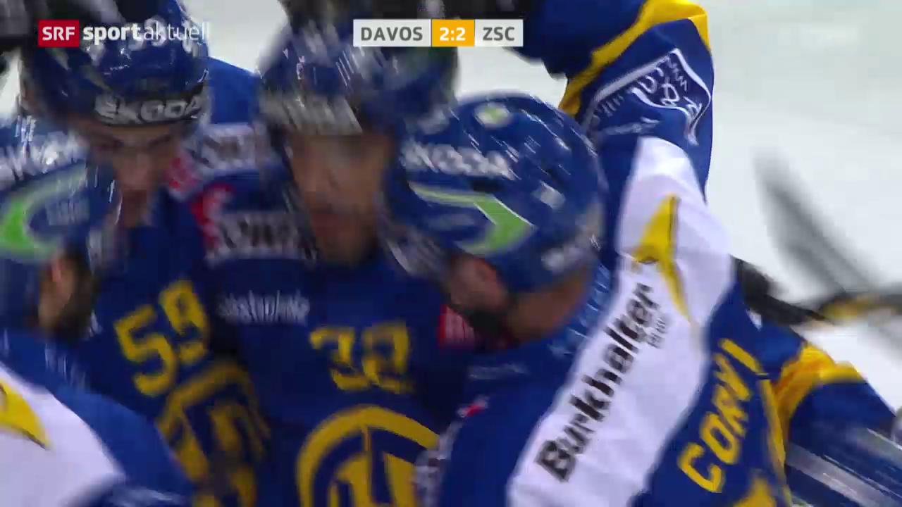 Eishockey: Playoff-Final, HC Davos - ZSC Lions