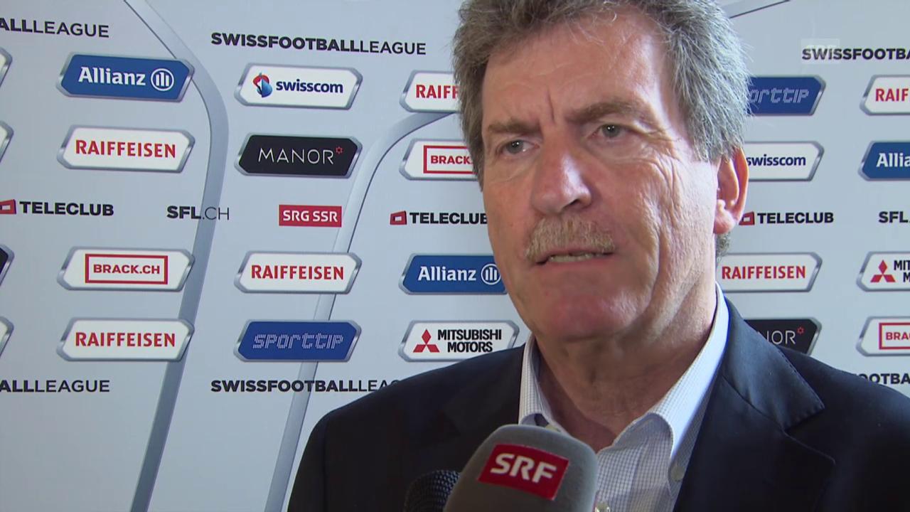 Fussball: Super League, Heinrich Schifferle zum Projekt Fokus One