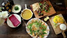 Link öffnet eine Lightbox. Video Jamies 30-Minuten-Menüs: Indisches Steak-Curry abspielen.