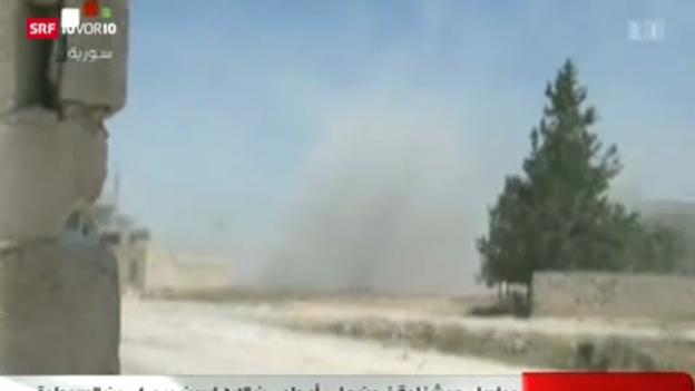 Video «Waffenlieferungen nach Syrien» abspielen