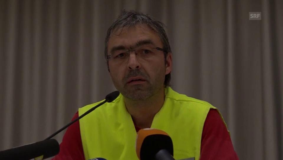 Pressekonferenz nach dem Vorfall in Ansbach