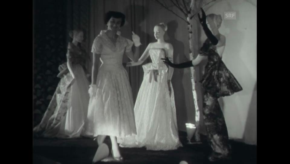Ausstellungseröffnung - Olma 1954 (Schweizer Filmwochenschau)
