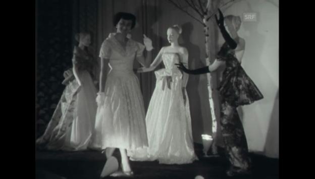 Video «Ausstellungseröffnung - Olma 1954 (Schweizer Filmwochenschau)» abspielen