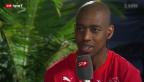 Video «Fussball: Gespräch mit Studiogast Gelson Fernandes, Teil I» abspielen
