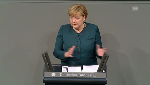 Video «Merkel will stärkere Währungsunion» abspielen