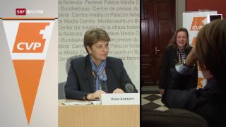 Video «FOKUS: CVP setzt auf ein reines Frauen-Ticket» abspielen