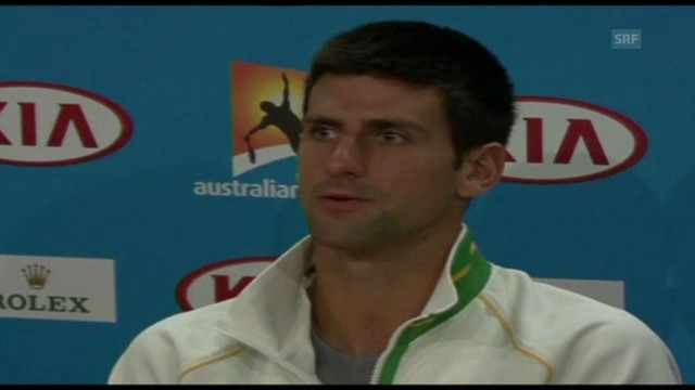 Djokovic über Doping im Tennis (englisch)