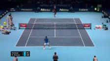Link öffnet eine Lightbox. Video Federer muss sich Zverev beugen abspielen
