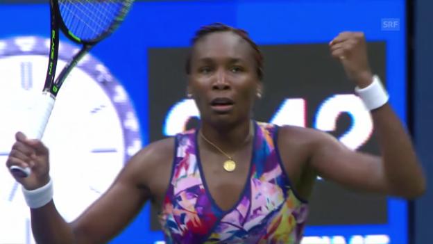 Video «Der Matchball von Venus Williams» abspielen