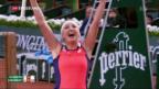 Video «Bacsinszky steht in Paris im Halbfinal» abspielen