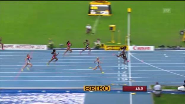 Video «400 m der Frauen («sportlive»)» abspielen