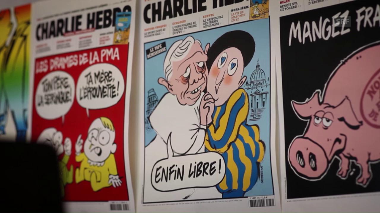 «Bei Charlie Hebdo hatte ich eine Familie gefunden.»
