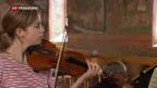 Video «Norwegische Star-Violonistin eröffnet Menuhin-Festival in Gstaad» abspielen