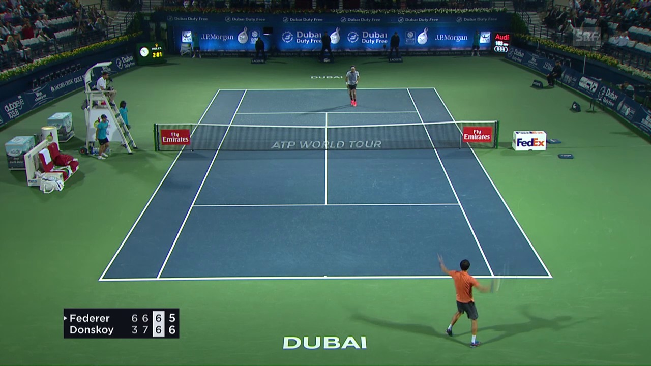 Vom 5:1 zum 5:7: Federers Horror-Tiebreak