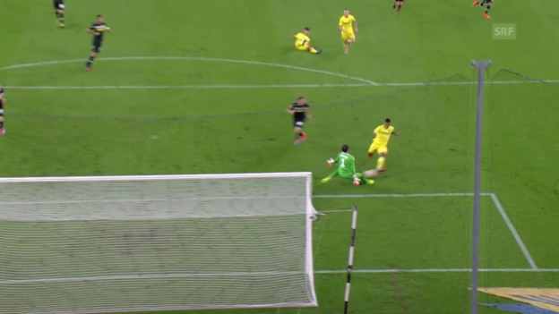 Video «Fussball: Europa League, Gladbach-Villarreal» abspielen