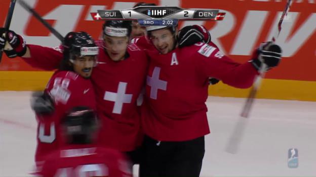 Video «Zusammenfassung Schweiz - Dänemark» abspielen