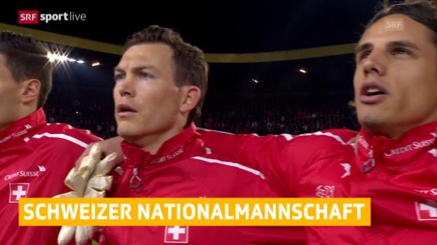 Video «Fussball: Schweizer Nationalmannschaft» abspielen