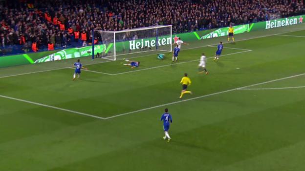 Video «Zusammenfassung Chelsea - PSG» abspielen