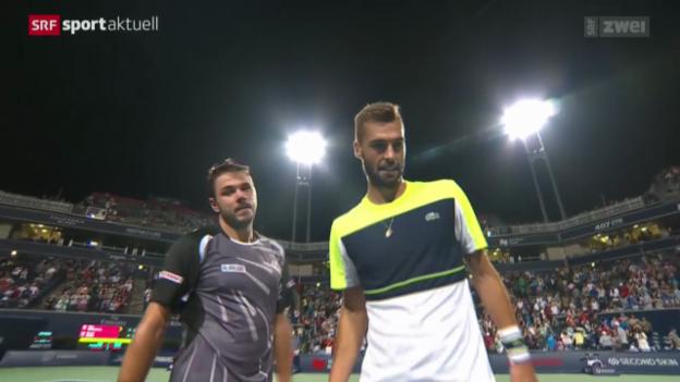 Video «Tennis: Wawrinka - Paire» abspielen