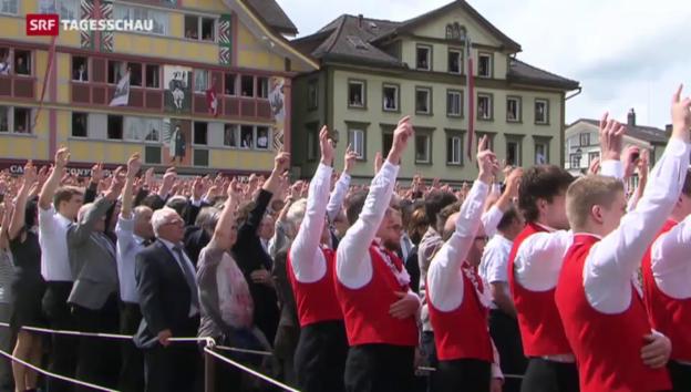 Video «Wahlen in Appenzell Innerrhoden» abspielen