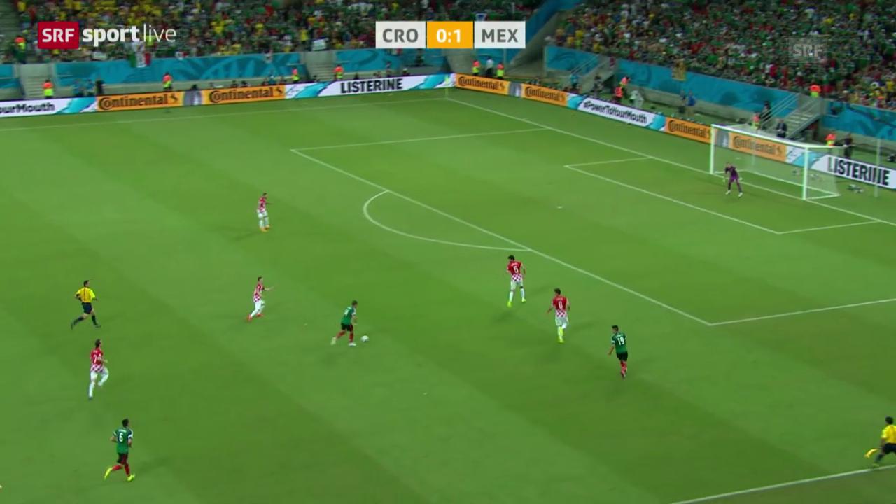 Spielbericht Kroatien - Mexiko