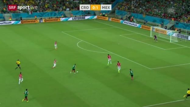 Video «Spielbericht Kroatien - Mexiko» abspielen
