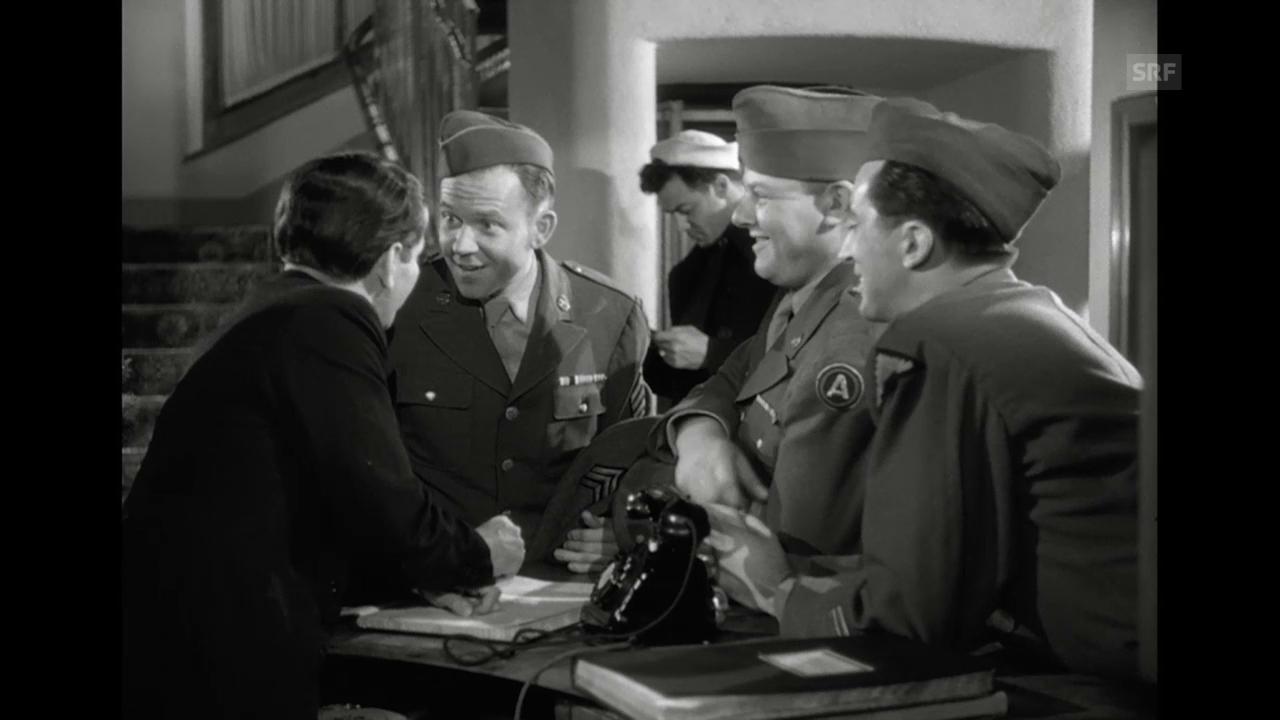 «Swiss Tour», 1949 (Filmausschnitt)