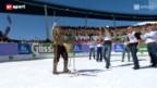 Video «Ski alpin: Das Jahr nach Didier Cuche («sportpanorama»)» abspielen