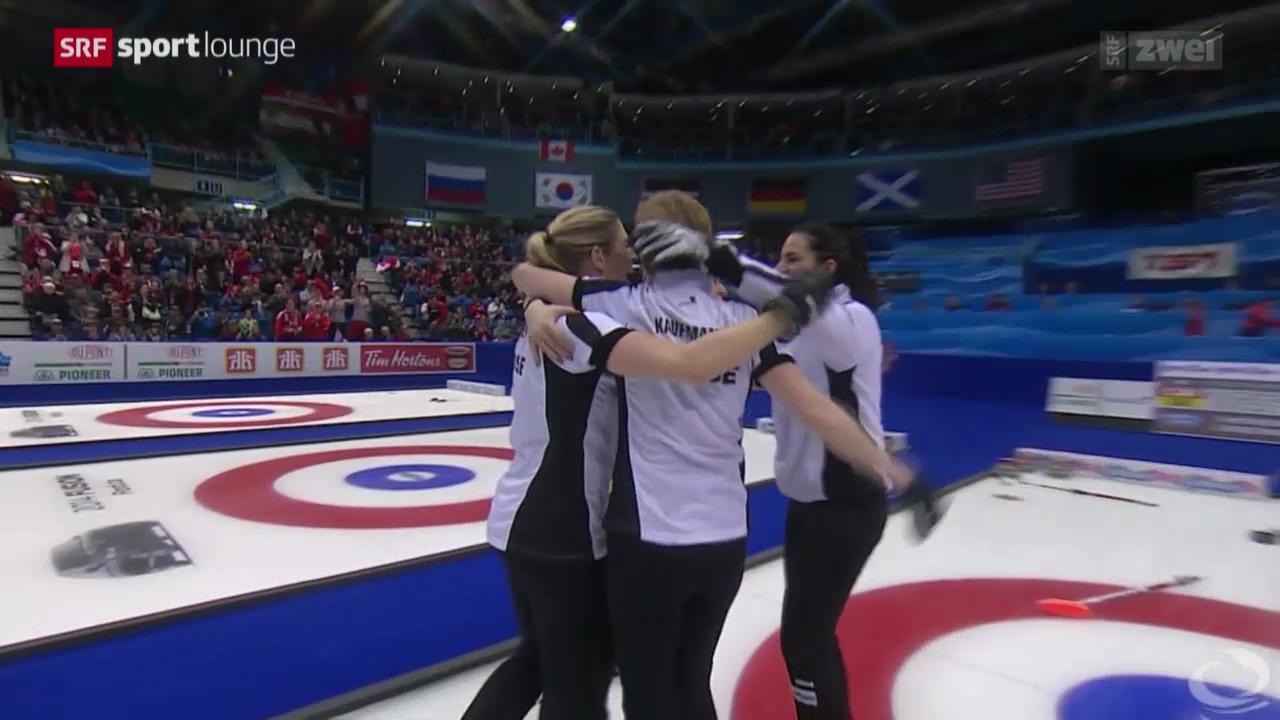 Curlerinnen gewinnen WM-Gold