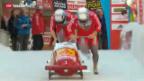 Video «Zweier-Bob-WM: Silber für Hefti» abspielen