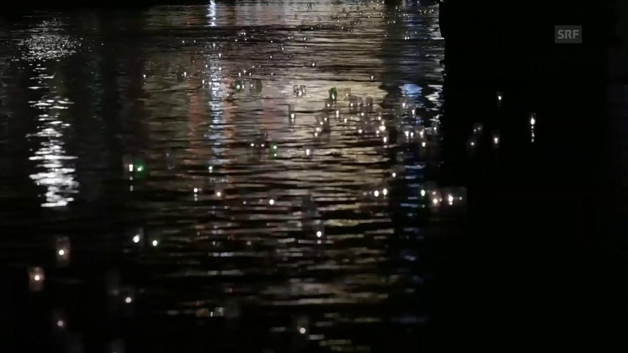 Impressionen 55. Zürcher Lichterschwimmen