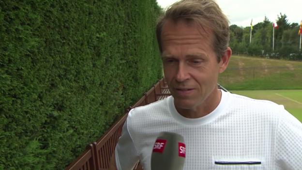 Video «Tennis: Wimbledon, Interview mit Stefan Edberg» abspielen