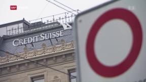 Video «Hohe Bussen für die Credit Suisse» abspielen
