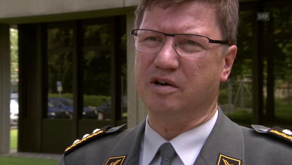 Aldo Schellenberg zum Luftpolizeidienst der Flugwaffe