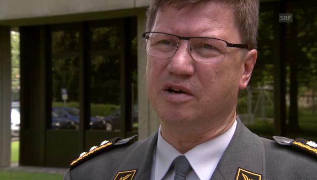 Video «Aldo Schellenberg zum Luftpolizeidienst der Flugwaffe» abspielen