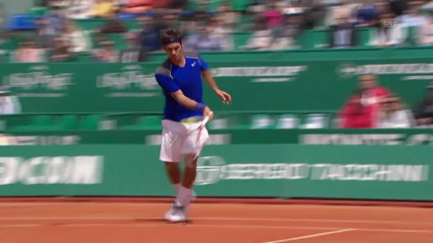 Video «Federers nächster Anlauf in Monte Carlo» abspielen