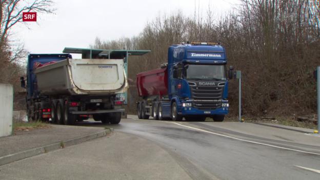 Video «200 Lastwagenfahrten pro Tag» abspielen