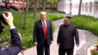 Video «FOKUS: Welche Ziele verfolgen Trump und Kim?» abspielen