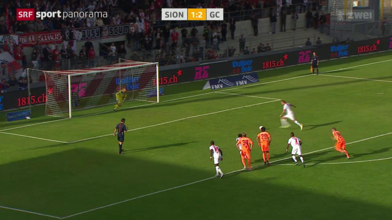 Fussball: Sion - GC