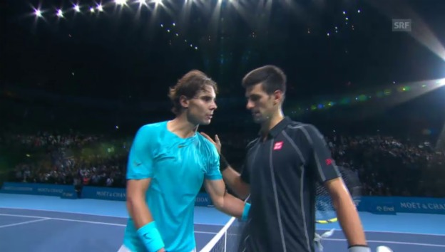 Video «Highlights Nadal-Djokovic» abspielen