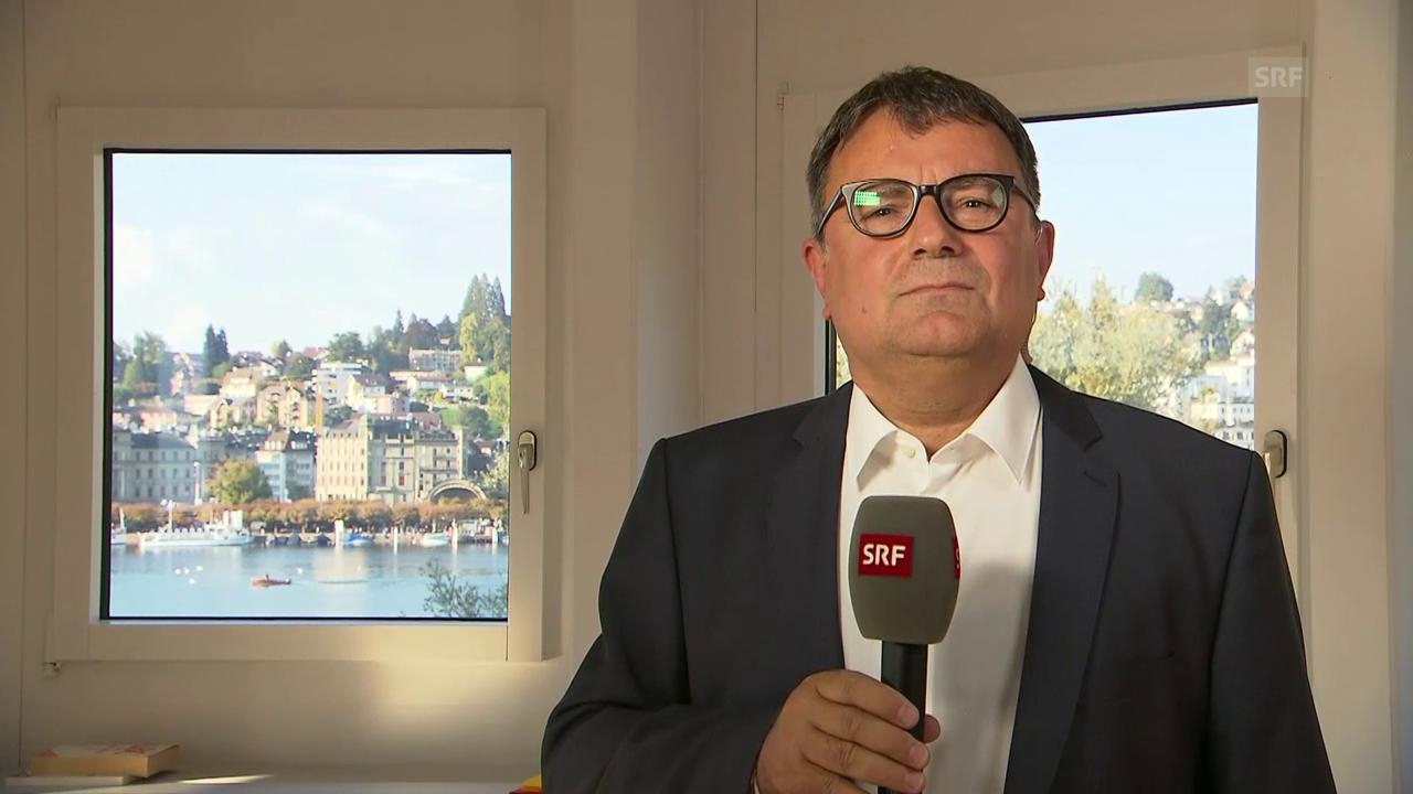 Einschätzung von SRF-Korrespondent Reto Holzgang