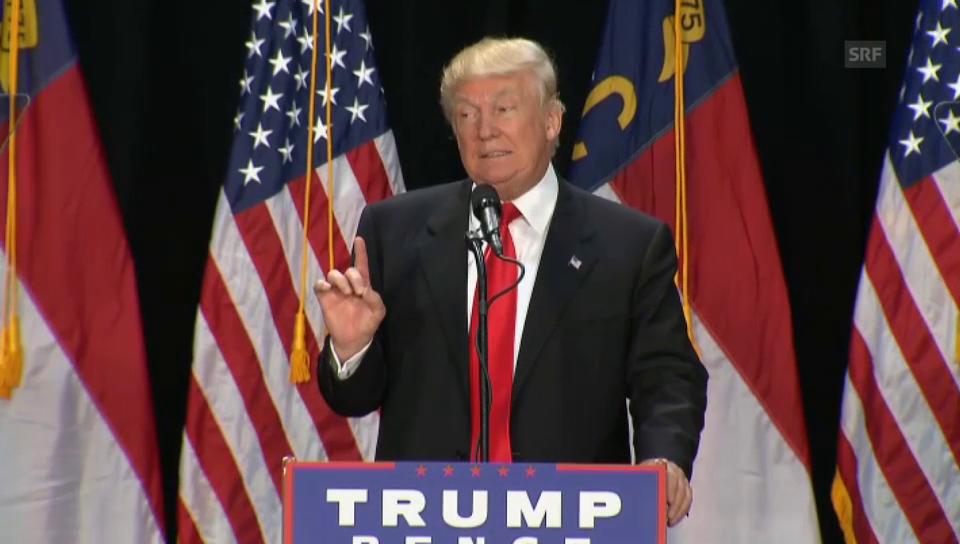 Trump bereut falsche Wortwahl