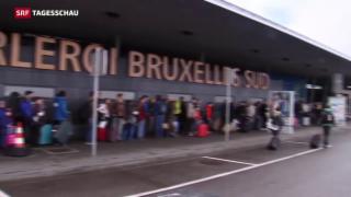 Video «Testlauf am Brüsseler Flughafen» abspielen