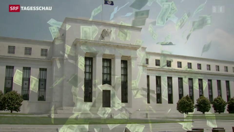 US-Notenbank stoppt Konjunkturstützungs-Programm