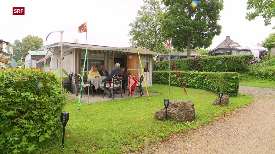 Streit um Dauercamper-Preise in Erlach am Bielersee