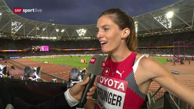 Video «Sprunger: «Wollte der Konkurrenz zeigen, dass ich da bin»» abspielen