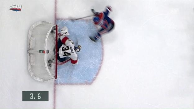 Video «McDavid trifft 2,6 Sekunden vor Schluss» abspielen