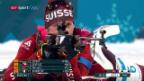 Video «Kein Exploit der Schweizer Biathlon-Männer-Staffel» abspielen