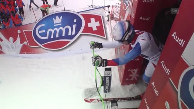 Ski alpin: Abfahrt Garmisch, Fahrt Carlo Janka